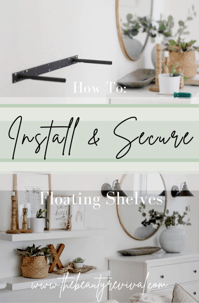 how to install and secure floating shelves to the wall #ikealack #ikeashelves #floatingshelves ikea lack floating shelves video tutorial
