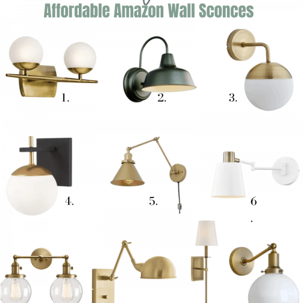 shopping guide for the best on trend affordable amazon wall sconces