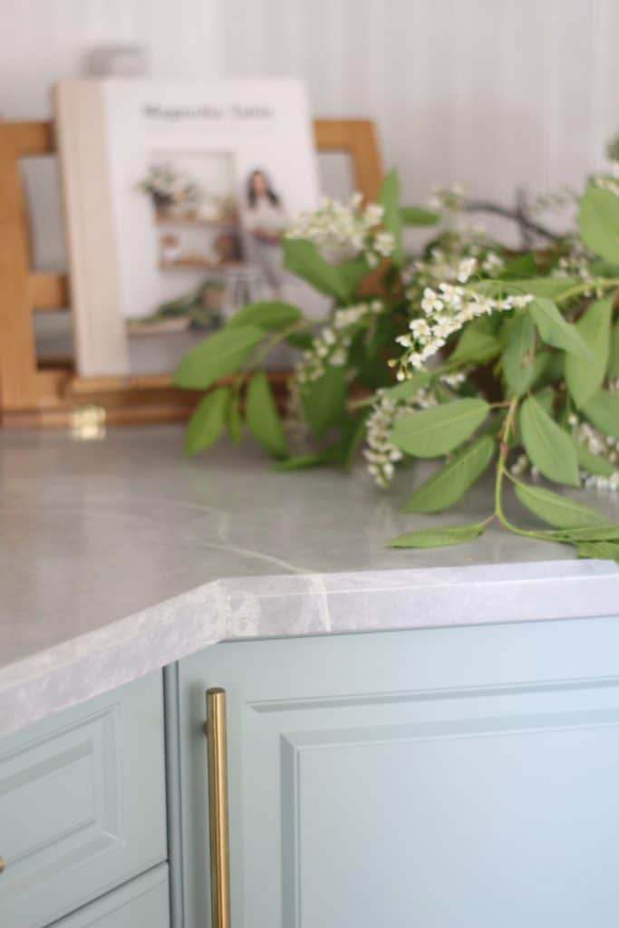 diy painted countertop tutorial