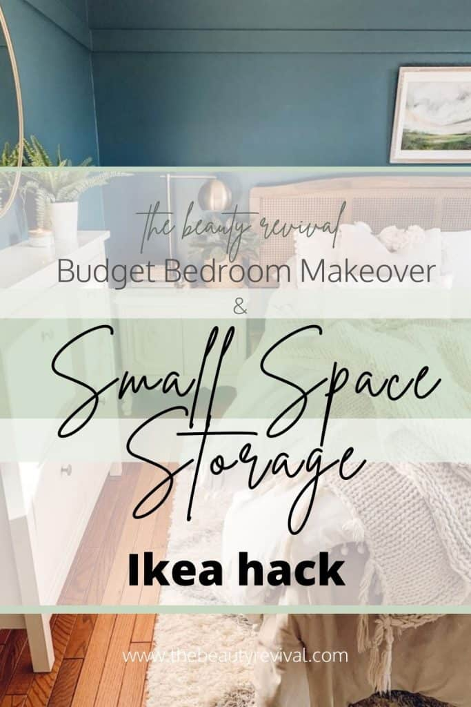 boho bedroom makeover on a budget small space storage solution ikea shoe cabinet