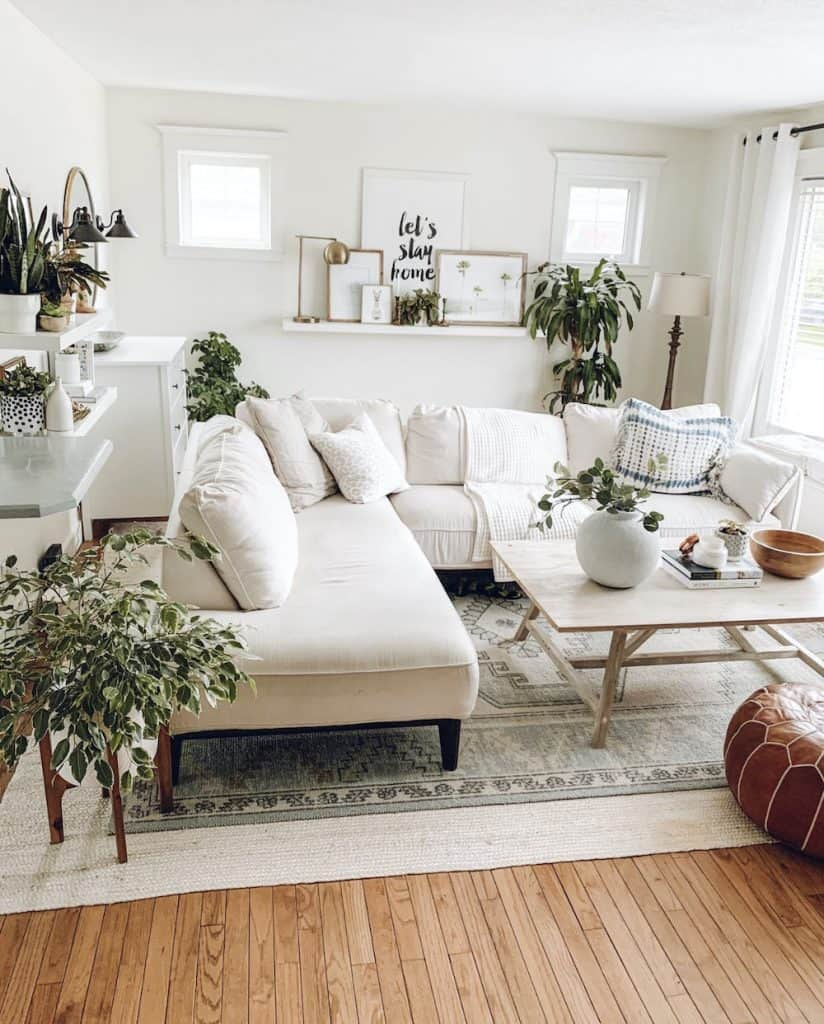 boho farmhouse home decor | Boho Modern Farmhouse Home Tour 2020