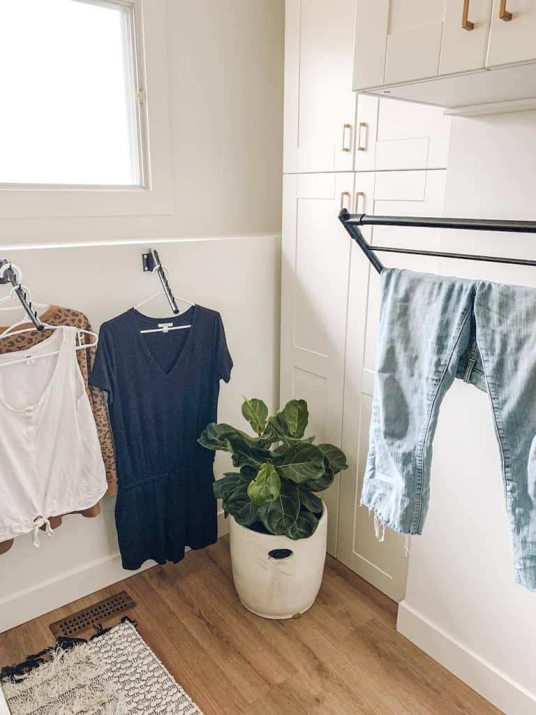 drying rack ideas for hanging clothes to dry
