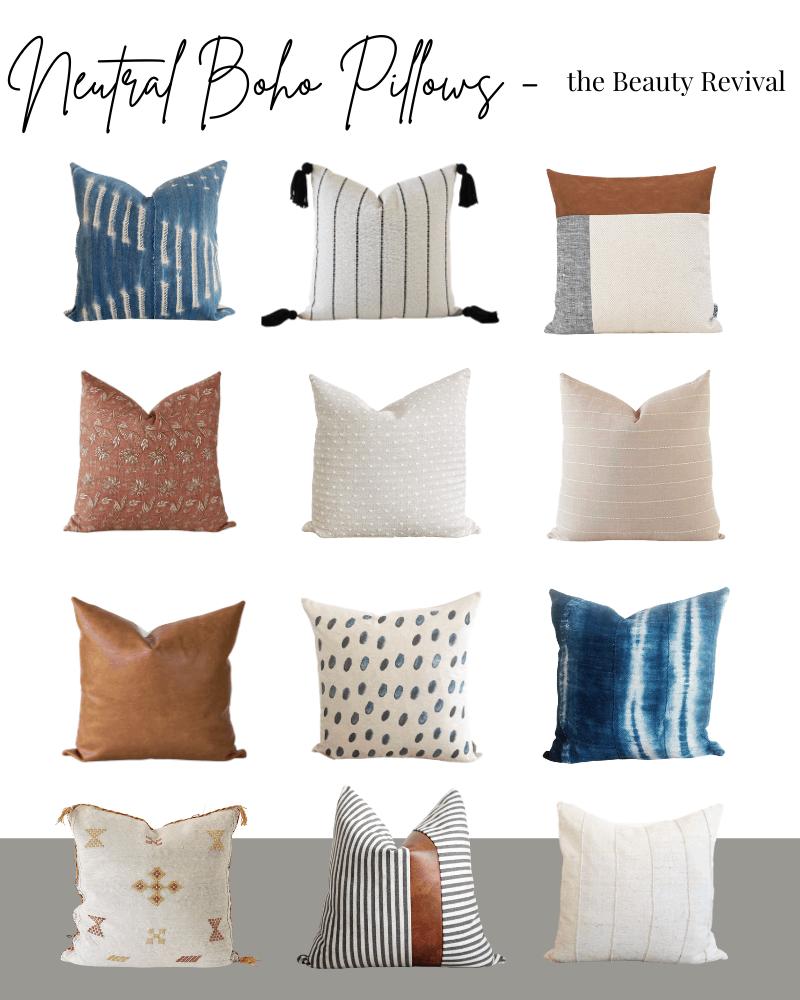 photo featuring boho pillows