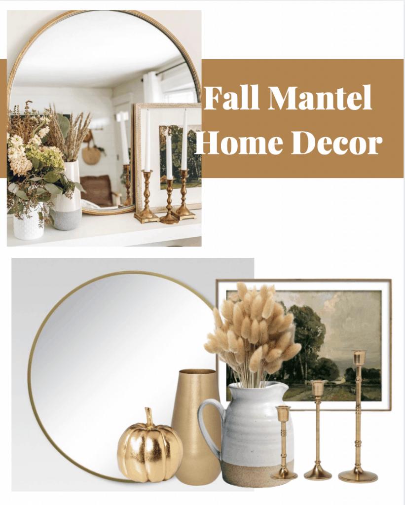 Faux Mantel Fall Decor The Beauty Revival