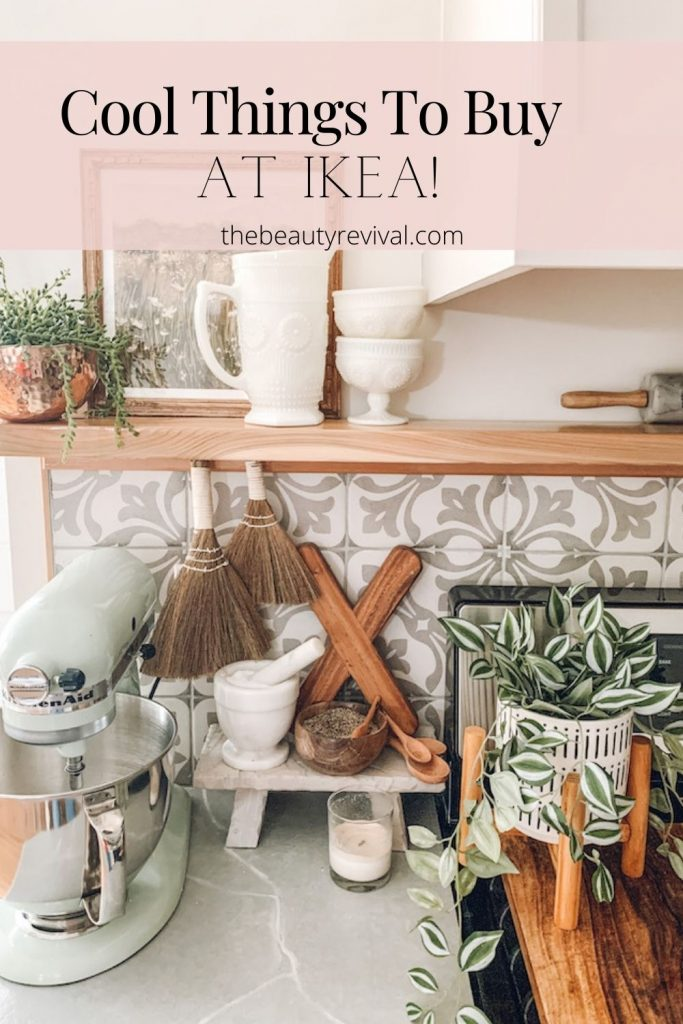 this is a pinterest pin for cool things to buy at ikea