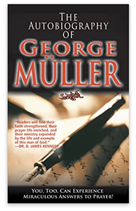 the autobiography of George Muller book cover