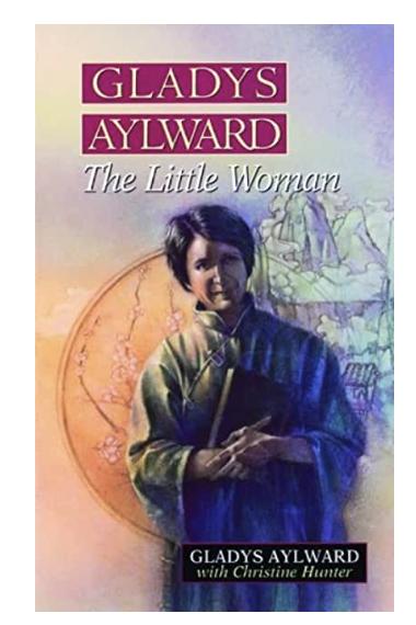 Gladys Aylward book cover