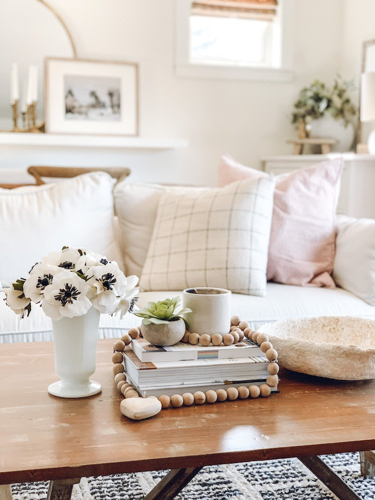 this is a photo of a coffee table decor