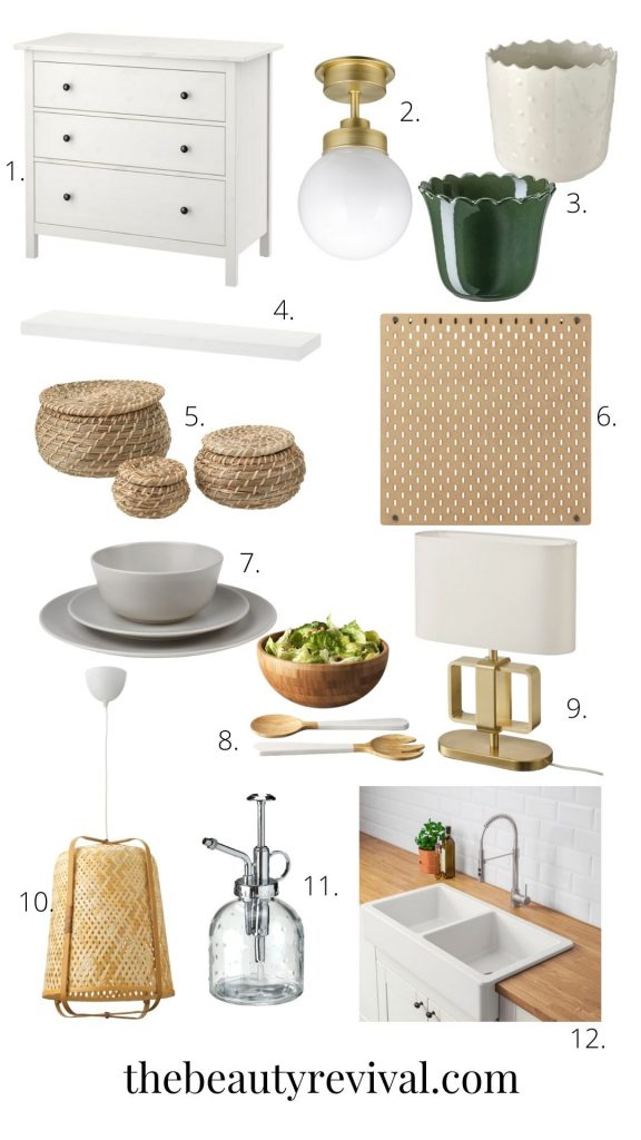 this is a photo with a bunch of items from ikea  for the best top 20 cool things to buy at Ikea