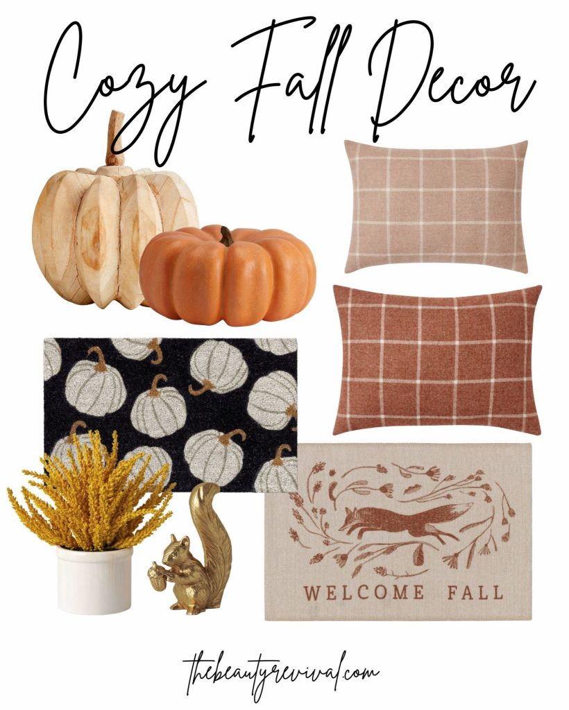image with multiple halloween and fall decor items