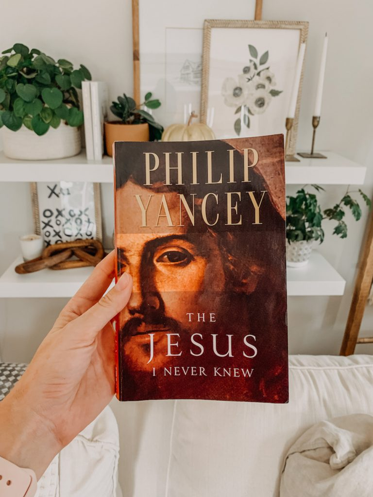 this is a photo of the book the Jesus I never knew
